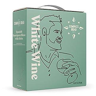 Amazon-Marke-Compass-Road-Weiwein-Sauvignon-Blanc-mit-Airn-trocken-Spanien-Bag-in-Box-5L