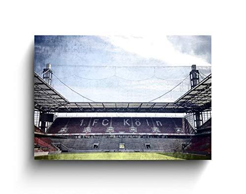 Südkurfe 1. FC, Köln Fotos auf Holz, Holzbilder, Handmade, verschiedene Größen