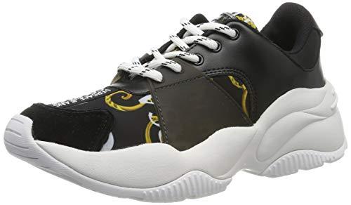 VERSACE JEANS COUTURE Damen Shoes Gymnastikschuhe, Schwarz (899/901 M27), 37 EU