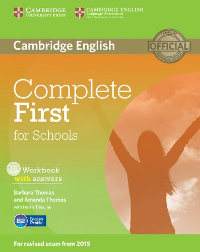 Complete First Certificate For School. Workbook with Answers with Audio CD [Lingua inglese]