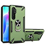 Grandcaser Étui pour Mi Note 10 Lite Ultra-Mince PC + TPU Antichoc Armor Support de Pare-Chocs...