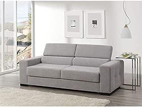 SHIITO Sofa Cama Sistema Italiano 215 cm. Aqua tapizado ...