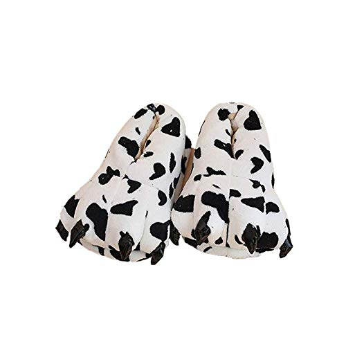 YLOVOW Claws Cotton Slippers Unisexo Otoño Invierno Zapatilla Lana De Coral Animal Pata Zapatos Claw Decor Pantuflas De Felpacarnaval Animales Niños Halloween Cosplay Zapato,13,S