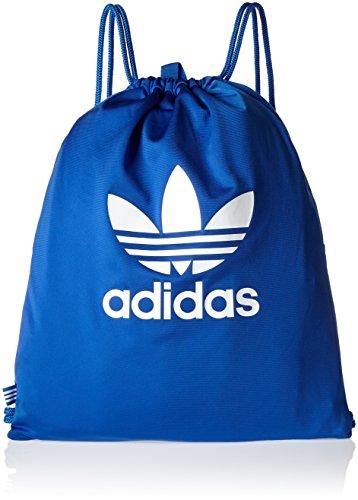 adidas Gymsack Tricot Bolsa de Gimnasio, Unisex Adulto, Azul (Azul), NS