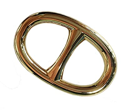 Maikun Oval Scarf Ring Elegant Simple Design Metal Scarf Jewelry Gold Christmas Valentine's Gifts