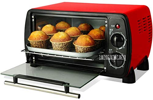 Countertop Convection Oven Mini Bakery Oven With Timer For Making Bread, Pizza 12L Small Household Multi-Function Cake Baking Oven