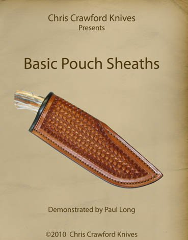 Ranking TOP13 Chris Crawford Knives Presents: Pouch Basic Sheaths Regular store