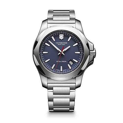 Victorinox Swiss Army Herren Analog Quarz Uhr mit Edelstahl Armband 241724.1