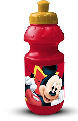 BORRACCIA Topolino Mickey Mouse Disney Sport PLASTICA con BECCUCCIO Rosso ML. 350 - 59697