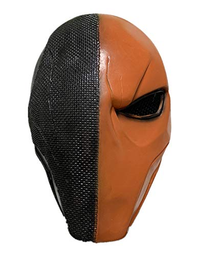 Deathstroke Mask Full Face Protection Mask Paintball Mask for Halloween Cosplay