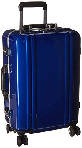 Zero Halliburton Classic Polycarbonate 2.0-22' 4-Wheel Travel Case, Blue, One Size