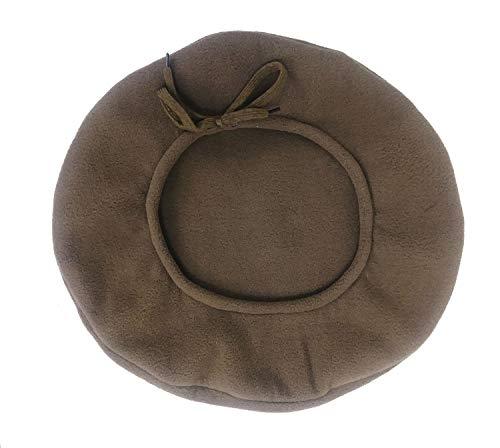 The Celtic Croft Outlander Inspired Fleece Scots Bonnet (Light Brown)