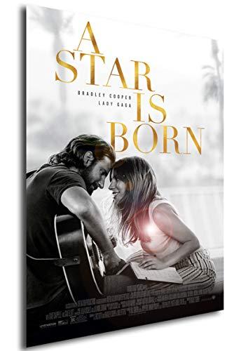Instabuy Poster Cartel De Pelicula - Ha Nacido una Estrella (Cartel 70x50)
