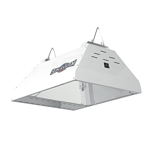 Sun System HGC906200 LEC 315 Watt 3100K Ceramic Philips Green Power CDM Lamp And Ballast, 120 Volt-ETL Listed Indoor Grow Light Fixture for Hydroponic & Greenhouse Use, White