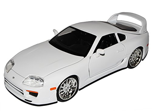 Toyota Supra Weiss Brian´s Paul Walker The Fast and The Furious 1/24 Jada Modell Auto