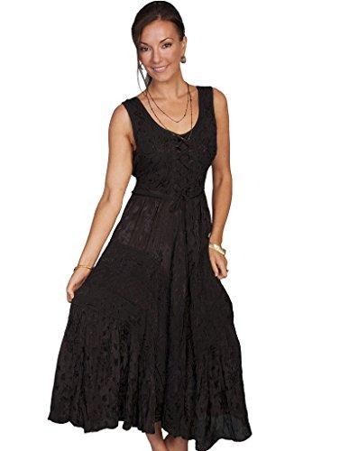 Scully Women's Honey Creek Amelie Dress Black Dress XL