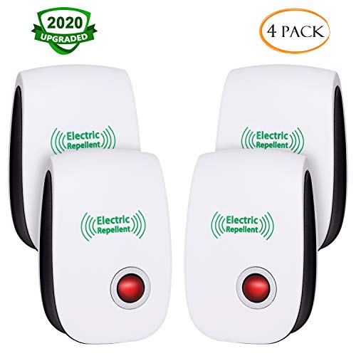 CIVPOWER 2020 Upgraded Ultrasonic Electronic Repellent, Pest Control Repeller Plug in Indoor Usage, Best Pest Controller to Bugs, Insects Mice, Ants, Mosquitoes, Spiders, Rodents
