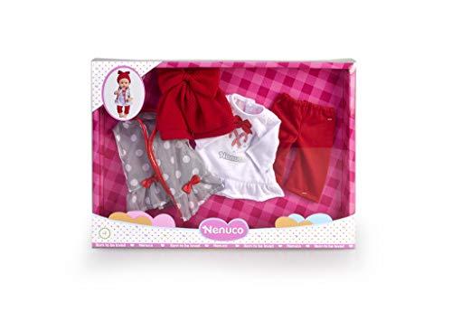 Nenuco 700015382 Deluxe winterkleding pakket accessoires voor poppen, meerkleurig