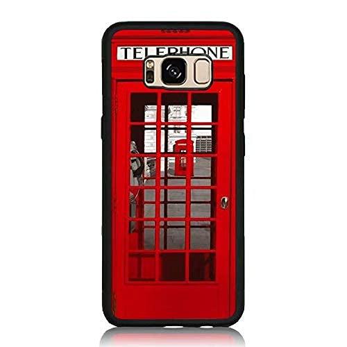 Custodie per cellulari nere per iPhone 12/12 Pro Max 12 mini 11 Pro Max SE X XS Max XR 8 7 6 6s Plus Custodie Red London Telephone Booth Custodia protettiva in silicone TPU