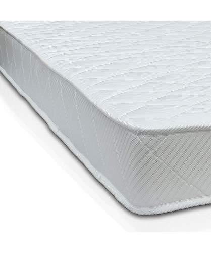 Art Materasso H10, con AirPur monoblocco, water foam ortopedico in poliuretano, con tessuto anti acaro di alta qualità, singolo 85x190