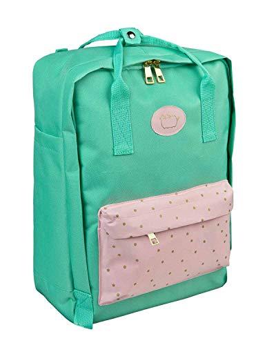 Undercover PUSH7591 - Fashion Rucksack Pusheen mit Hauptfach, Innenfach, Fronttasche, Seitentaschen, Reißverschlüssen, Tragegriffen und gepolstertem Rücken, für Schule, Freizeit und auf Reisen