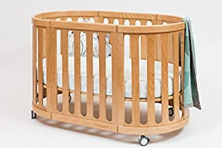 Cocoon Furniture Nest 4-in-1 Crib and Bassinet System in Natural