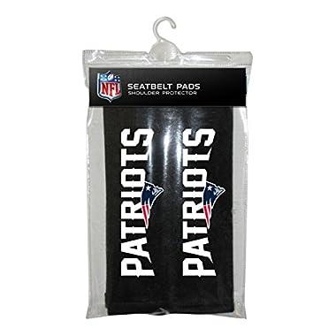 Fremont Die NFL New England Patriots Seat Belt Pad (Pack of 2)