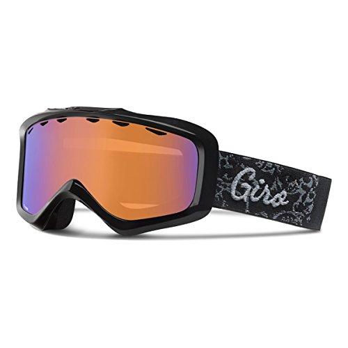 Giro Charm Women's Snowboard Ski Goggle Black Filigree - Persimmon Boost