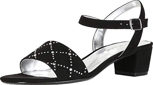 David Tate Allana Women's Sandal 8 B(M) US Black