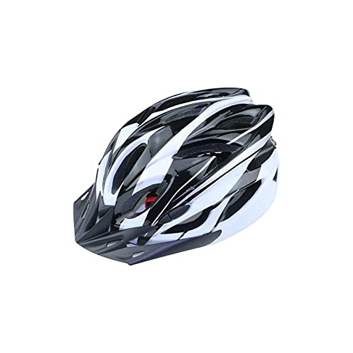 Specialized Bike Helmet, Lightweight Microshell Design,Bicycle Helmet with Helmet Accessories-Led Light/Removable VisorAdjustable for Adults, Youth and Children Road&Mountain (E)