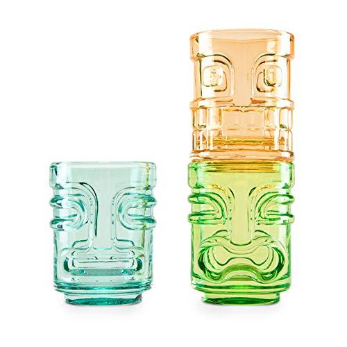 Tiki Trio Shot Glasses