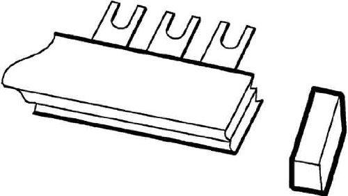 ABB Stotz S&J 4016779514729 - Copertura terminale per sistema PS-END pro M compact 5 Stück Endkappe