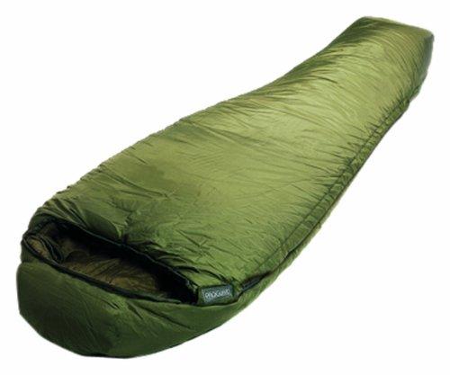 Lestra Schlafsack grün Reißverschluß rechts