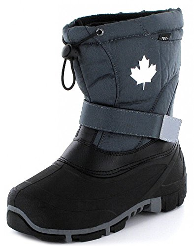Indigo Canadians 467-185 Kinder Winter Stiefel Snow Boots (40, Dk. Grey)