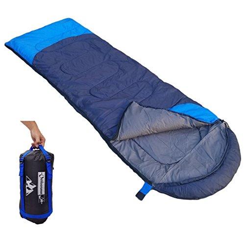 Outdoorsman Lab Sleeping Bag, Lightweight Backpacking & Camping Sleeping Bag for Adults & Kids, 3...