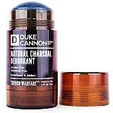 Duke Cannon Trench Warfare Natural Charcoal Deodorant, 2.75 Oz - Sandalwood and Amber/Alcohol-Free, Aluminum-Free