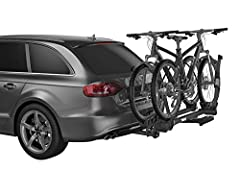 "Thule T2 Pro XT 2 - 2"": Premium platform hitch bike rack for 2 bikes Dimensions: 54 x 15 x 43 in 