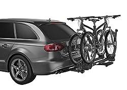 "Thule T2 Pro XT 2 Hitch Bike Rack (2""), Black, Model:9034XTB"