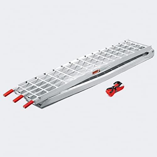 Wiltec Rampa di carico Ripiegabile in Alluminio per Moto e Quad 310cm 540kg