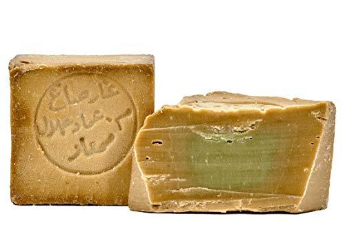 Savon d'Alep 80% huile d'olive 20% huile de laurier – vegan fait à la main – Olivier Savon Laurier – Savon Traditionnel Recette de L'Orient
