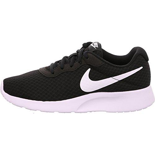 NIKE Tanjun, Sneaker Donna, Nero (Black/White 011), 38.5 EU