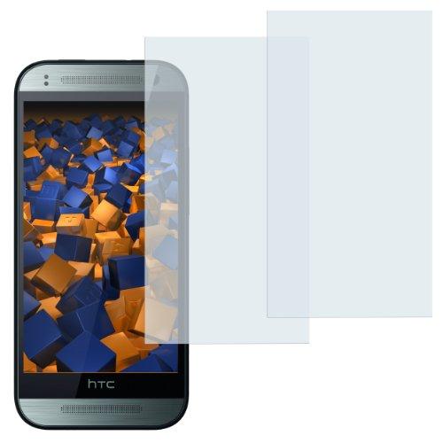 mumbi Schutzfolie kompatibel mit HTC One mini 2 Folie klar, Displayschutzfolie (2x)