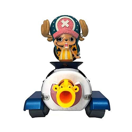 QHYZRV Personajes de Anime One Piece Group Vertical Gran Ruta Chopper Picture Modelo Modelo Estatua Muñeca Escultura Altura 14 cm