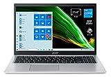 "Foto Acer Aspire 5 A515-56-566X PC Portatile, Notebook, Intel Core i5-1135G7, RAM 8 GB DDR4, 512 GB PCIe NVMe SSD, Display 15.6"" FHD LED LCD, Scheda Grafica Intel Iris Xe, Windows 10 Home, Silver"