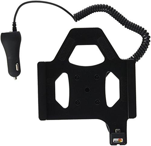 Brodit 512871 Tablethalter aktiv mit Kfz-Ladeadapter für Huawei Media Pad T1 8.0 schwarz