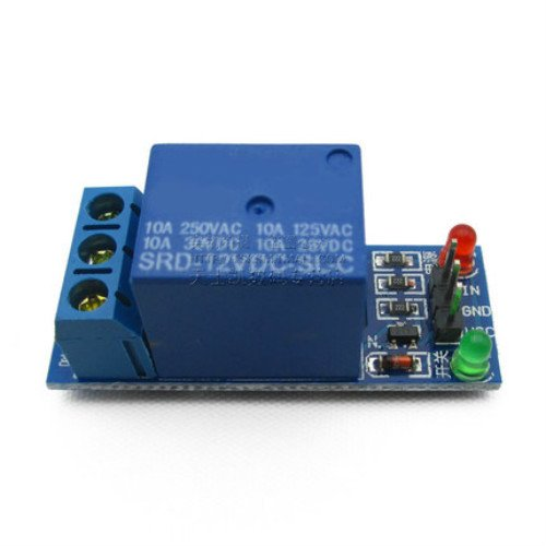 GUWANJI 1 road relay module 12 v low level trigger relay expansion board all the way