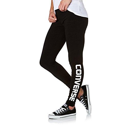 Converse Leggings Women Wordmark Legging 14643C Schwarz 003, Größe:S