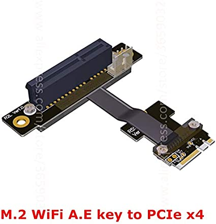 Sukvas PCI-Express x1 x4 x8 x16 Male to Male,PCI-E 3.0 Male to Female 1x 4X 8X 16x Graphics Extension Cable PCIe Female to Female Cable Length: 20cm, Color: R11LR