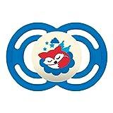 MAM Babyartikel, Chupete'Perfect Noche 16', reproductor de Blu (Blau)