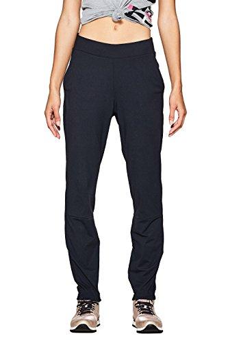 ESPRIT Sports Damen 018EI1B009-E-Dry Active Sporthose, Schwarz (Black 001), 38 (Herstellergröße: M)